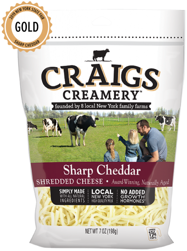 Sharp Cheddar <br/>Shreds