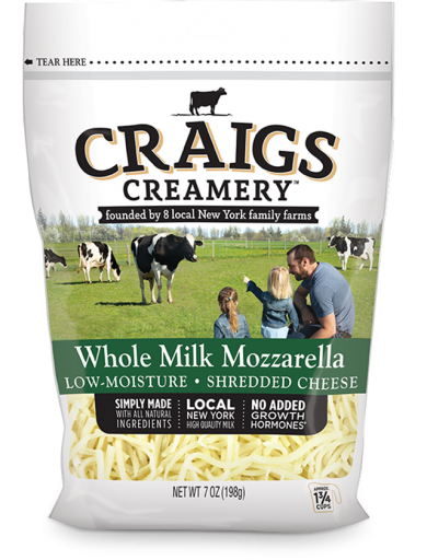 Whole Milk <br/>Mozzarella Shreds