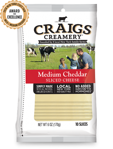 Medium Cheddar <br/>Slices