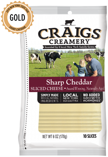 Sharp Cheddar <br/>Slices