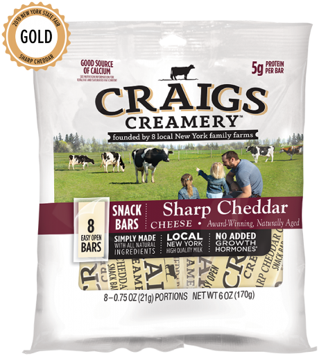 Sharp Cheddar <br/>Snack Bars