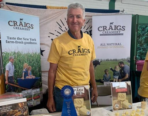 Craigs Creamery Wins Gold at NYS Fair