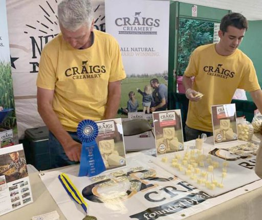 Craigs Creamery Wins Gold at The Great New York State Fair